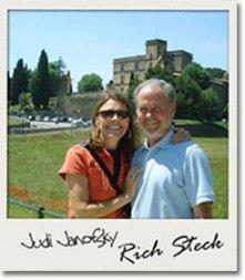 Judi Janofsky and Rich Steck