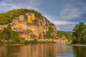 La Roque Gageac on the Dordogne River