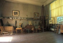 Cezanne's studio in Aix-en-Provence still has the smell of his oil paints.