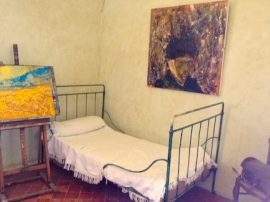 Van Gogh spent a year in an asylum in St. Remy