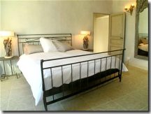 Each bedroom in the villa has French linens, an ensuite  bathroom and individual climate control.