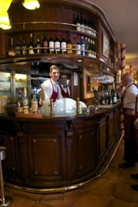 The bar where Hemingway met Fitzgerald
