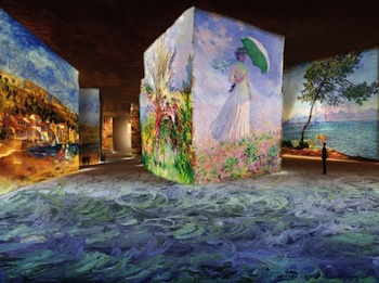 Carrieres de Lumieres interior