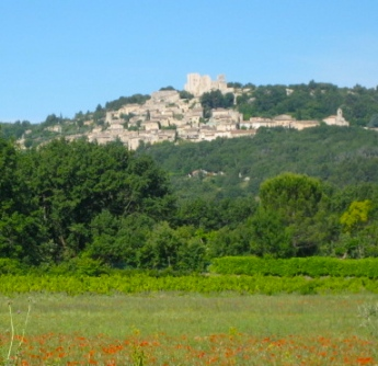 de sade's castle, Lacoste valley