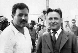 Hemingway and Fitzgerald in Paris