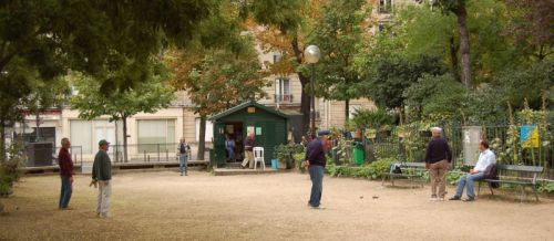 petanque court